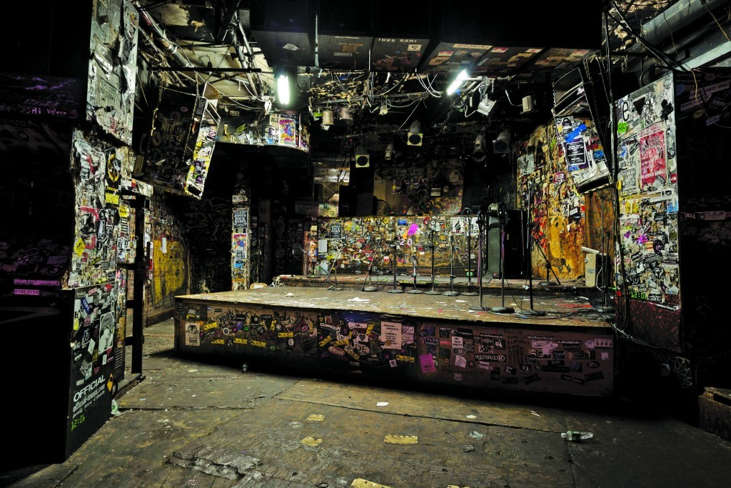CBGB (Stage) for McSweeney's