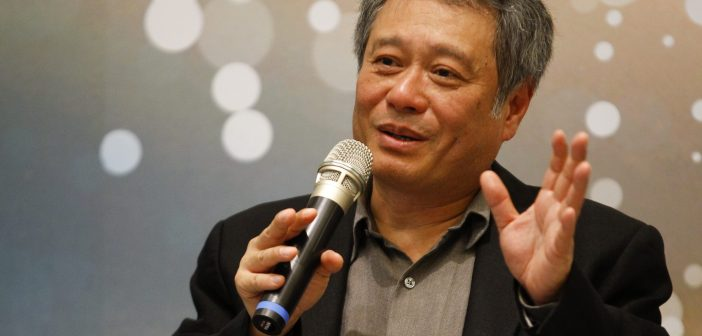 Director Ang Lee speaks in a news conference in Taipei, May 9, 2013. Lee was invited by the Ministry of Culture to make suggestions to a five-year investment plan to invigorate domestic documentary filmmaking productions. REUTERS/Yi-ting Chung (TAIWAN - Tags: ENTERTAINMENT)