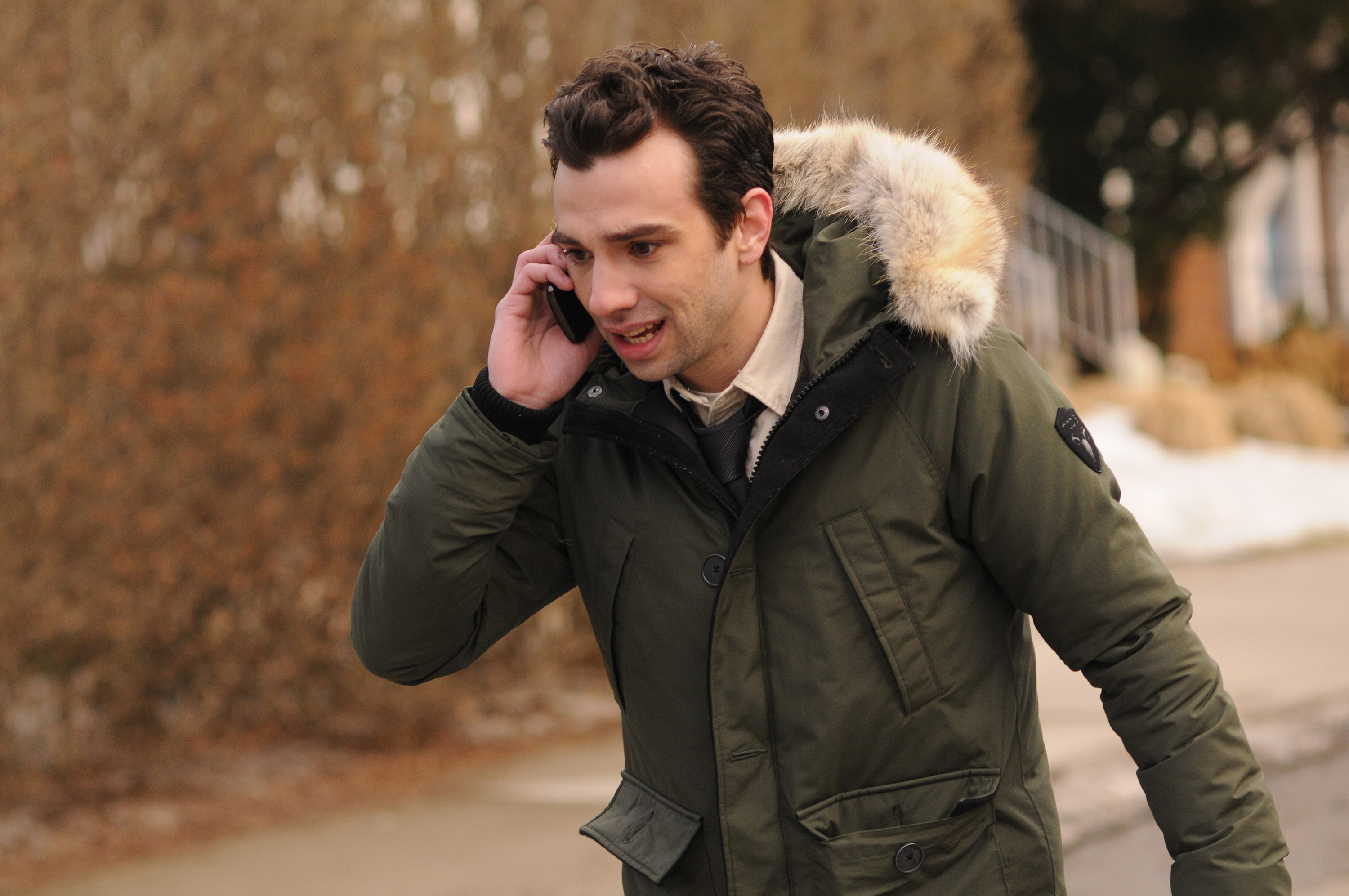 "MAN SEEKING WOMAN -- Episode 1: ""Lizard"" (Airs Wednesday, January 14, 10:30 PM e/p). Pictured: Jay Baruchel as Josh. CR: George Kraychyk/FXX"